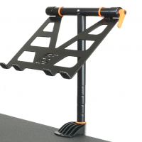 Fast-Attach Laptop Stand with a close-up view
