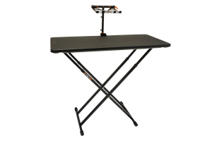 Fast-Attach Laptop Stand with a front view
