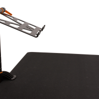 Fast-Attach Laptop Stand with a raised position
