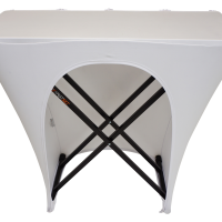 Fastset Table with White Scrim