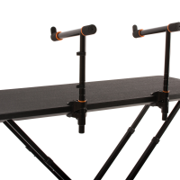 Two Tier Arms mounted in the center of the fastset table