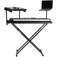 Producer Bundle with laptop stand, two tier arms, and the fastset table
