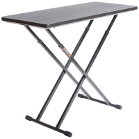 Black Table shown at full height